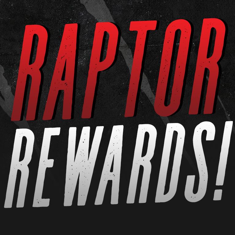Raptor Rewards!