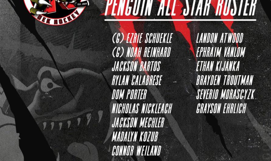 2021 Penguin All Stars Roster